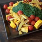 夏野菜のカレー南蛮漬け