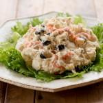 海老と里芋の和風ポテトサラダ
