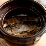 琵琶鱒の炊き込みごはん