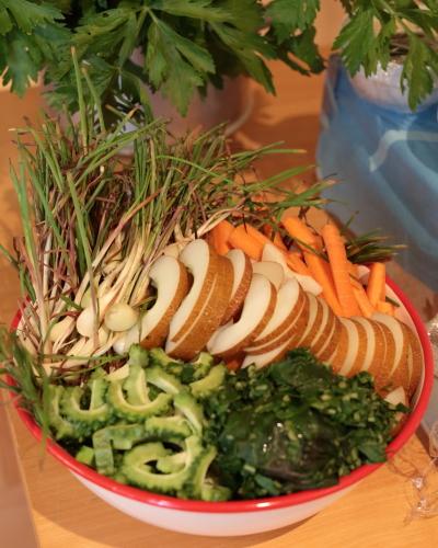 沖縄野菜のスティック