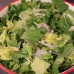 久松農園のサラダ