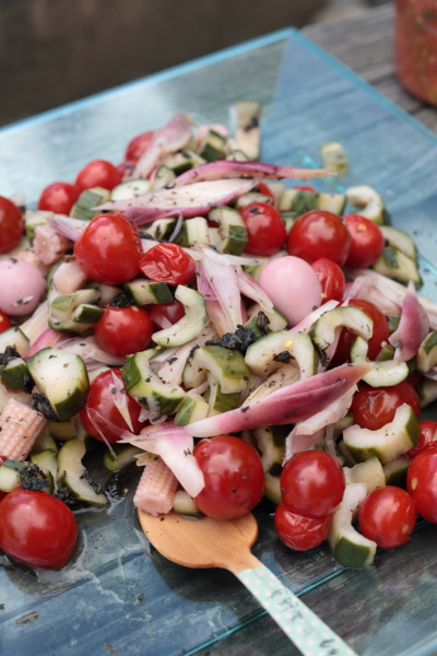 夏野菜のしそ酢ピクルス